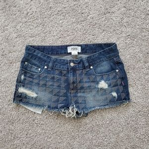 Pink Victoria's Secret Cut off Shorts